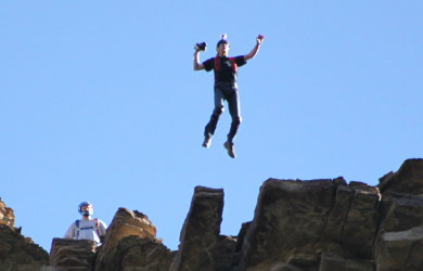BASE Jump Cliff